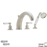 Vanity Art Single Handle Floor Mounted Tub Filler Trim