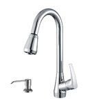 Ruvati Citadel Single Handle Kitchen Faucet With Pull Out