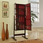 Beautify Jewelry Armoire With Mirror Amp Reviews Wayfair