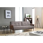 Brayden Studio Midtown Linen Convertible Sofa Amp Reviews