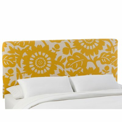 Skyline Furniture Slip Cover Gerber Upholstered Panel Headboard