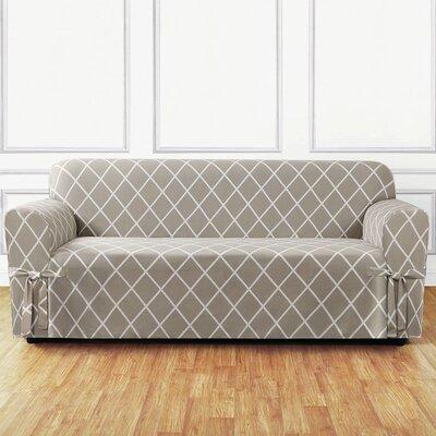 Sure Fit Lattice Sofa Slipcover Reviews Wayfair