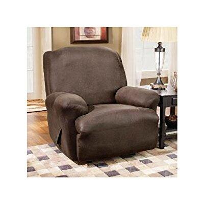 denim recliner chair shop 730 pet friendly slipcovers wayfair  sc 1 st  Diy Tent Cover & Denim Recliner Chair - Avenger Power Reclining Console Loveseat ... islam-shia.org