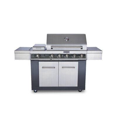 ... Kitchen Aid Gas Grill Kitchenaid 5 Burner Liquid Propane Gas Grill 720  Wayfair ...