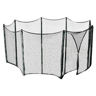 upper bounce universal trampoline net to enclose multiple large to extra large tampoline frames used for multiple amount of poles bungees included
