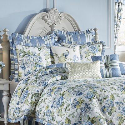 waverly floral engagement 4 piece reversible comforter set u0026 reviews wayfair - Waverly Bedding