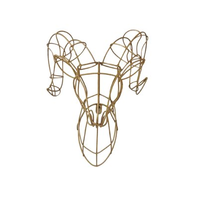Wire Wall Decor bungalow rose ram wire wall décor | wayfair