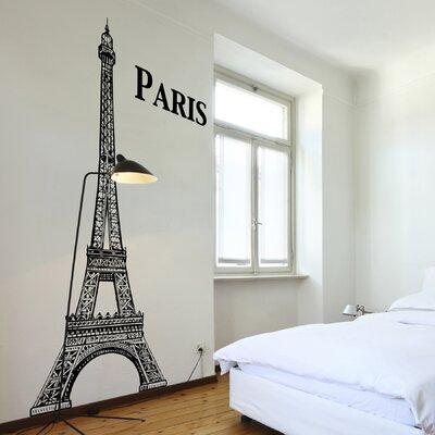 Home Decor Line Eiffel Tower Wall Decal U0026 Reviews   Wayfair Part 15