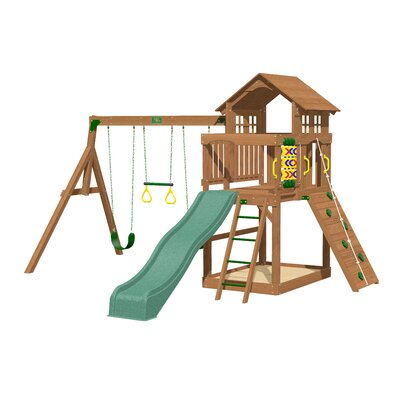 Creative Playthings Eagle Point Swing Set & Reviews | Wayfair