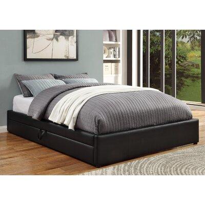 wildon home queen upholstered storage platform bed u0026 reviews wayfair