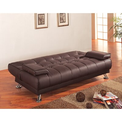 . Wildon Home   Sleeper Sofa in Rich Brown   Reviews   Wayfair