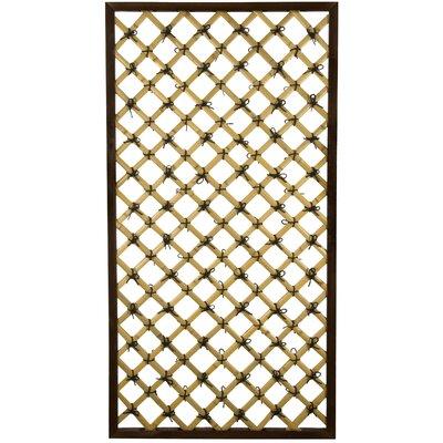 Oriental Furniture Traditional Wood Lattice Panel Trellis & Reviews    Wayfair - Oriental Furniture Traditional Wood Lattice Panel Trellis