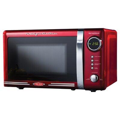 Nostalgia Electrics Retro Series 18 0 7 Cu Ft Countertop Microwave Reviews Wayfair