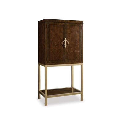 Hooker Furniture Skyline Bar Cabinet  Reviews  Wayfair