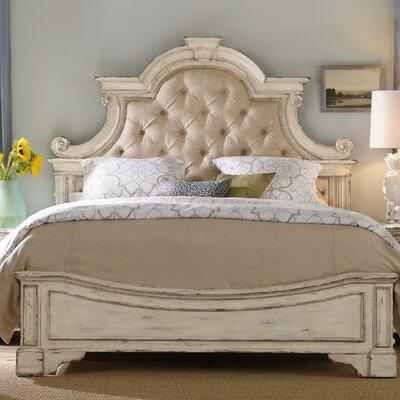 Hooker Furniture Sanctuary Upholstered Panel Bed U0026 Reviews   Wayfair
