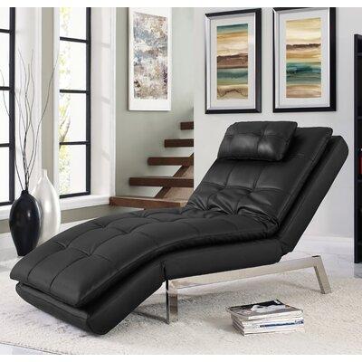 Serta Futons Vienna Convertible Chaise Lounge U0026 Reviews   Wayfair