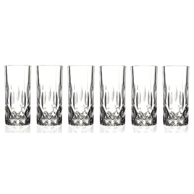 lorren home trends opera rcr crystal highball glass u0026 reviews wayfair - Highball Glasses