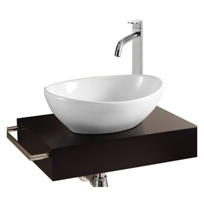Caracalla Ceramica Ii Oval Vessel Bathroom Sink Reviews Wayfair