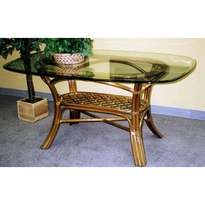 wicker & rattan kitchen & dining tables you'll love   wayfair