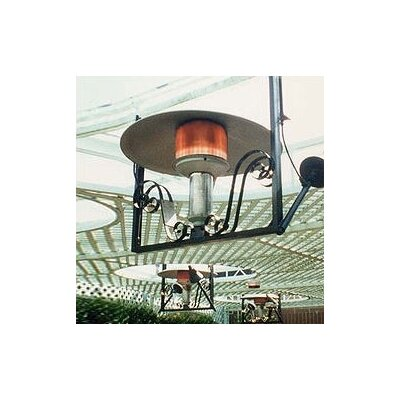 Sunglo 50 000 BTU Natural Gas Hanging Patio Heater & Reviews