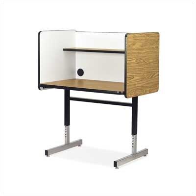 Virco 8700 Series Wood Adjustable Height Study Carrel Reviews