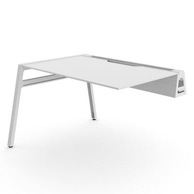 "steelcase 48"" w bivi training table | wayfair"
