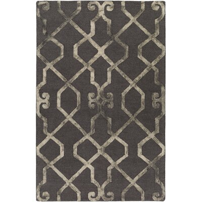 Artistic Weavers Organic Amanda Hand Tufted Charcoal/Beige Area Rug U0026  Reviews | Wayfair