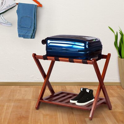 Casual Home Calvin Luggage Rack & Reviews | Wayfair