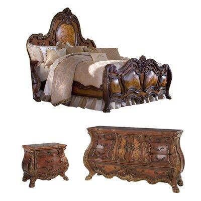 michael amini chateau beauvais panel bedroom set u0026 reviews wayfair - Michael Amini