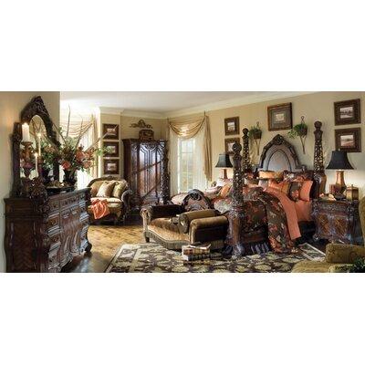 Michael Amini Essex Manor Four Poster Configurable Bedroom Set U0026 Reviews    Wayfair