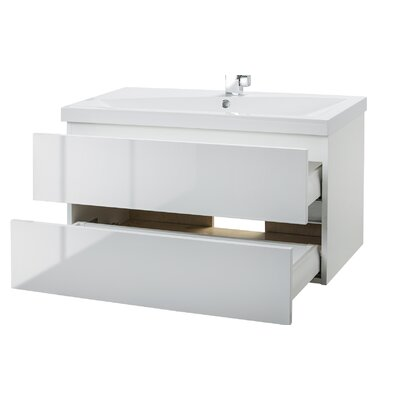 "cutler kitchen & bath sangallo 36"" single bathroom vanity set"