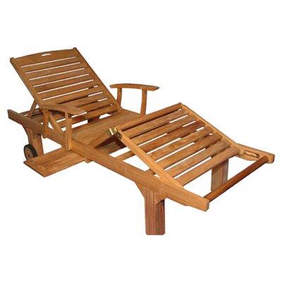 Regal Teak Sun Lounge Chair Reviews Wayfair