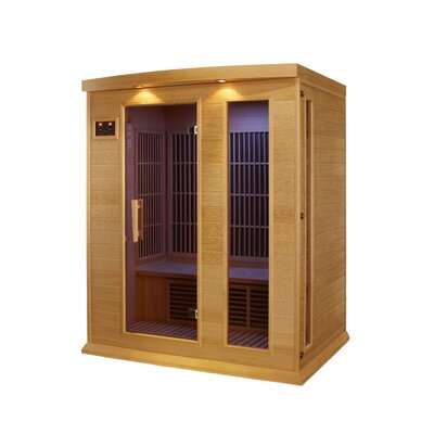 dynamic infrared 3 person carbon far infrared sauna u0026 reviews wayfair - Infared Sauna