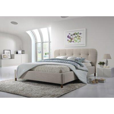 wholesale interiors baxton studio king upholstered platform bed u0026 reviews wayfair - Baxton Studio Bed