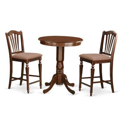 east west eden 3 piece counter height pub table set u0026 reviews wayfair