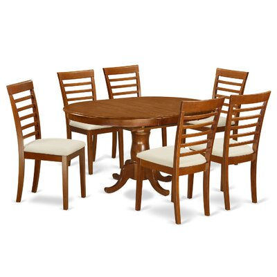 East West Portland 7 Piece Dining Set Reviews