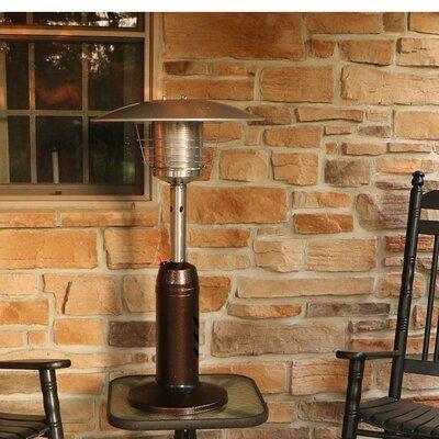 Hanover Mini Umbrella Propane Tabletop Patio Heater U0026 Reviews | Wayfair