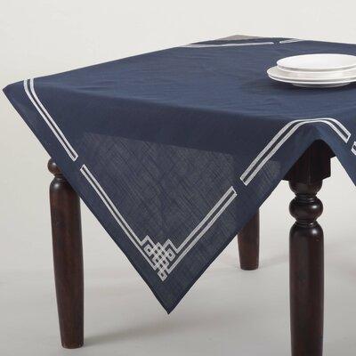 Captivating Saro Theodora Stitched Greek Key Tablecloth U0026 Reviews | Wayfair
