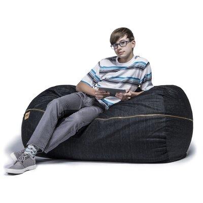 - Jaxx Denim 4' Bean Bag Lounger & Reviews Wayfair