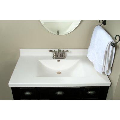 Imperial Center Wave Bowl 37 Single Bathroom Vanity Top Reviews Wayfair