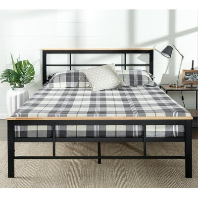 Zinus Urban Metal Wood Platform Bed Reviews Wayfair