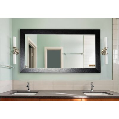 Turquoise Wall Mirror rayne mirrors double wide vanity wall mirror | wayfair