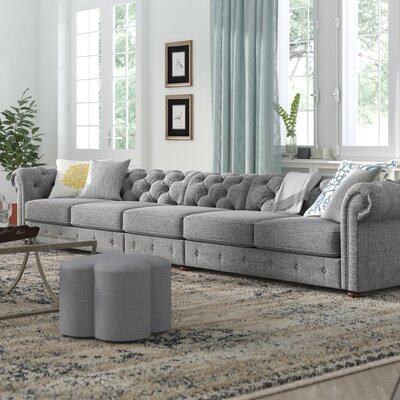three posts gowans 6seater sofa u0026 reviews wayfair