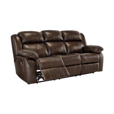 Branton Leather Reclining Sofa