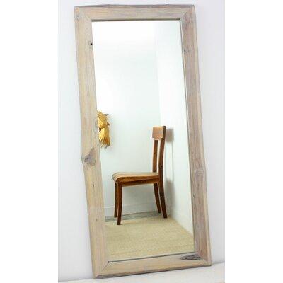 Strata Furniture Teak Rectangle Mirror U0026 Reviews | Wayfair