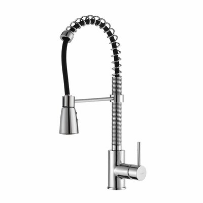 Kraus Single Handle Pull Down Kitchen Faucet With 3 Function Sprayer U0026  Reviews   Wayfair