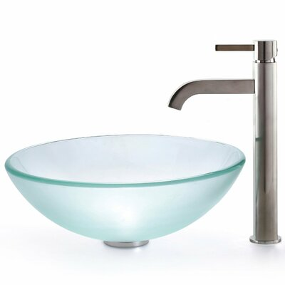 Kraus Ramus Single Handle Vessel Sink Bathroom Faucet U0026 Reviews | Wayfair