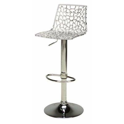 creative furniture spider adjustable height swivel bar stool u0026 reviews wayfair