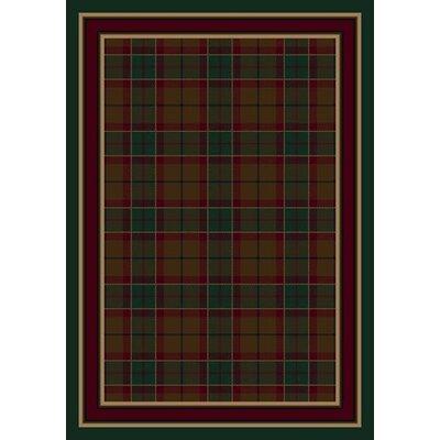 Milliken Signature Magee Tartan Emerald Area Rug U0026 Reviews | Wayfair