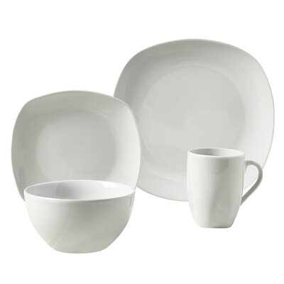 Tabletops Gallery Logan 16 Piece Dinnerware Set, Service For 4 U0026 Reviews |  Wayfair